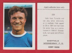 Sheffield Wednesday Gerry Young 255